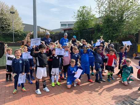 Easter Football Camp 2019!
