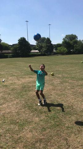 Skills Check: Overhead Kick!