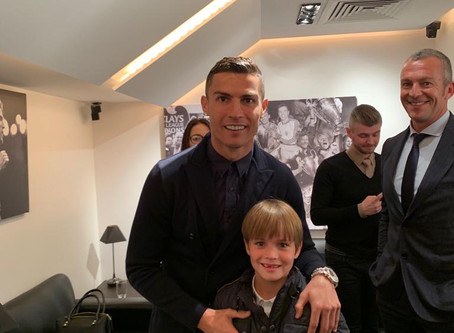 Look who Ronaldo is with...