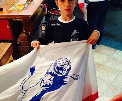 Archy Under 11 player for Millwall!