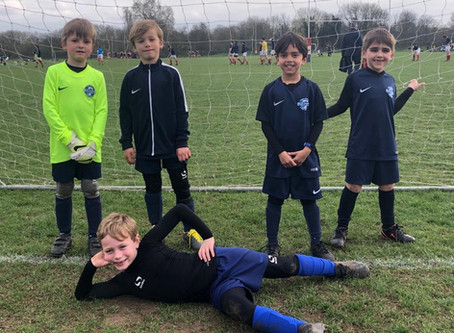 Panthers under 7's Posing!