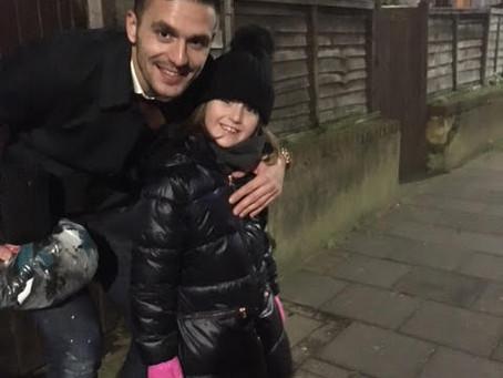 Dušan Tadić with our under 8 player!