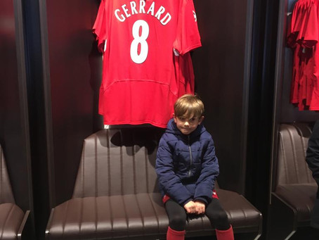 Someone went to Liverpool FC!