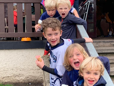 PW DONS - Tigers Under 7's bringing the energy...