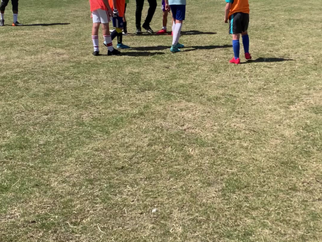 Things are getting competitive Week 1 @ Football Camp 2020