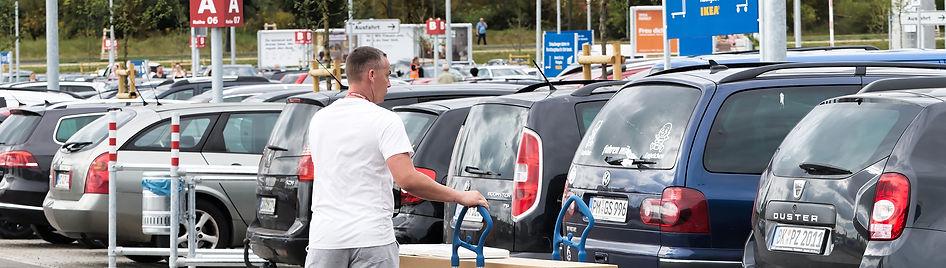 IKEA Lebenswertes Lustenau Stau Volksabstimmung Verkehrslawine