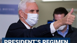 Pence says he's not taking hydroxychloroquine