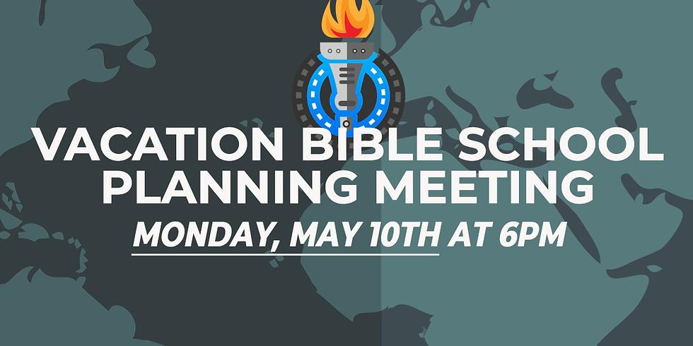 Vacation Bible School Planning Meeting