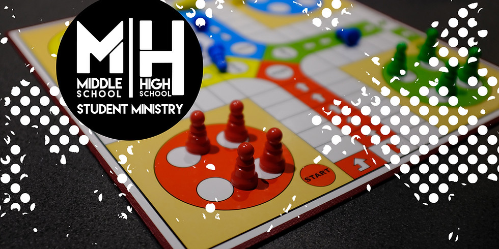 Middle School/ High School Funtastic Event: Game Night