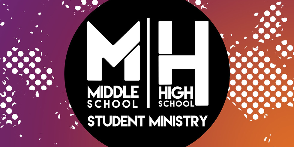 Middle School/ High School Student Ministry Youth Group