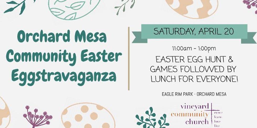 Orchard Mesa Community Easter Eggstravaganza