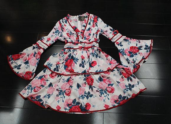 FLOWER BOMB DRESS (SB065)