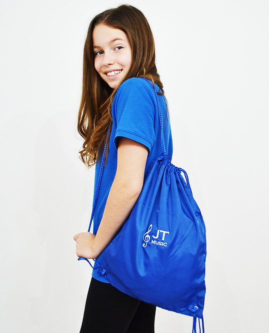 JT Music Drawstring Bag