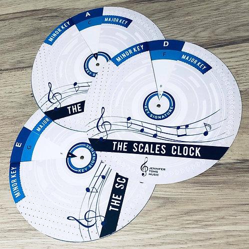JT Musc Scales Clock