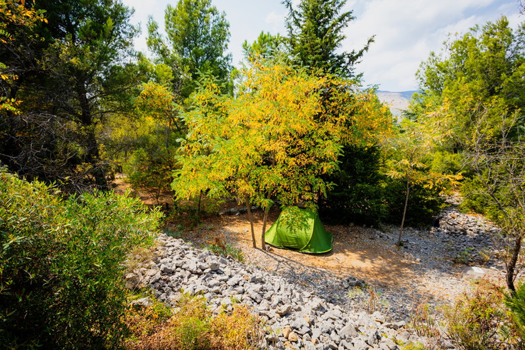 emplacement nature pour tente