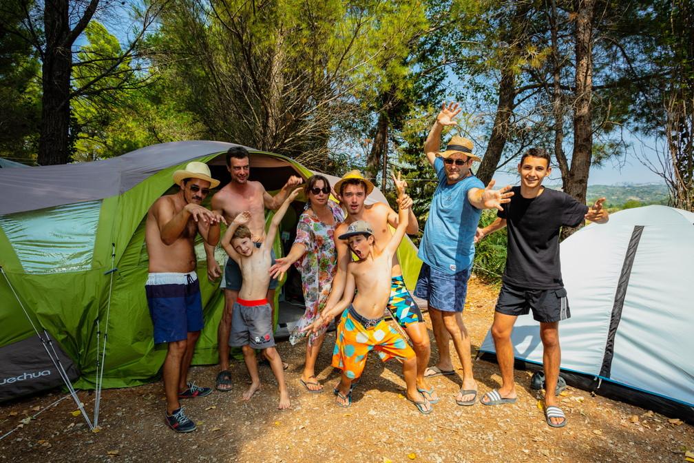 Empacement Camping ombragé