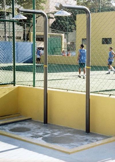 Chuveiro Áreas Esportivas