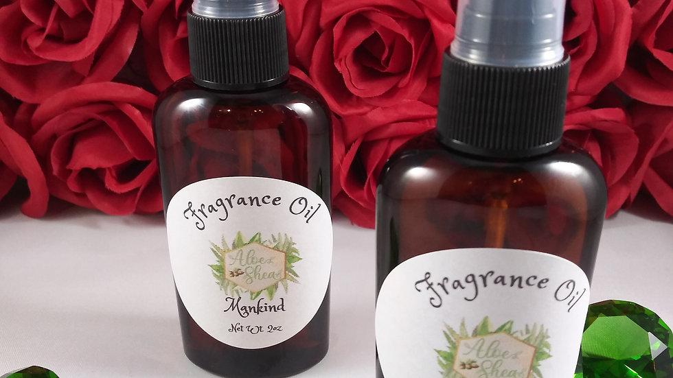 2 oz Body Fragrance Oil- Men