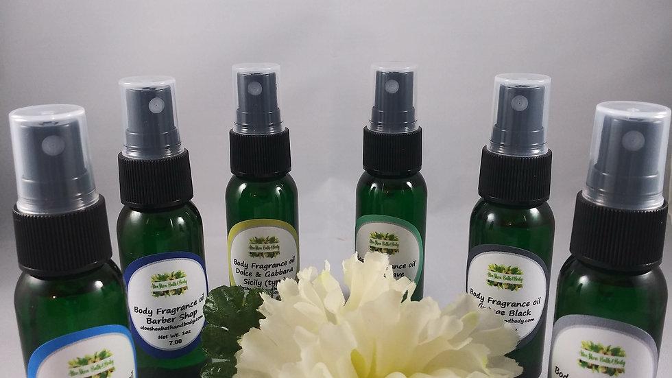 1oz Body Fragrance Oil- Men