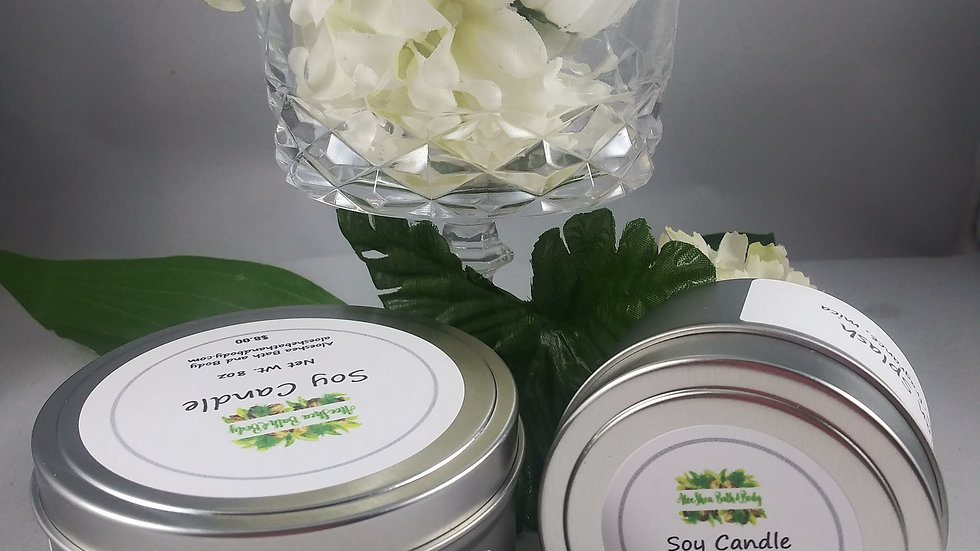 100% Soy Candles 4oz