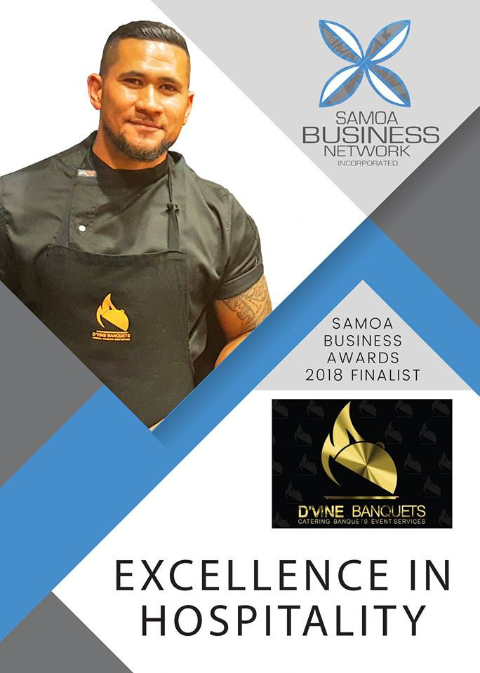 Awarded Excellence in Hospitality of Yea