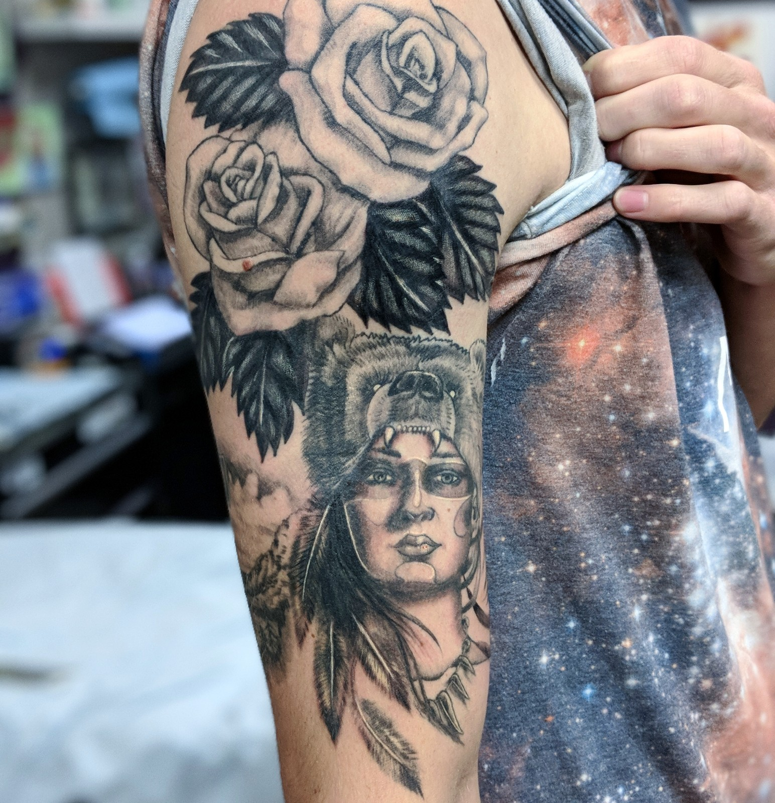 Covered Multiple tattoos
