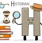 alphabeth-occupation-letter-h-historian-