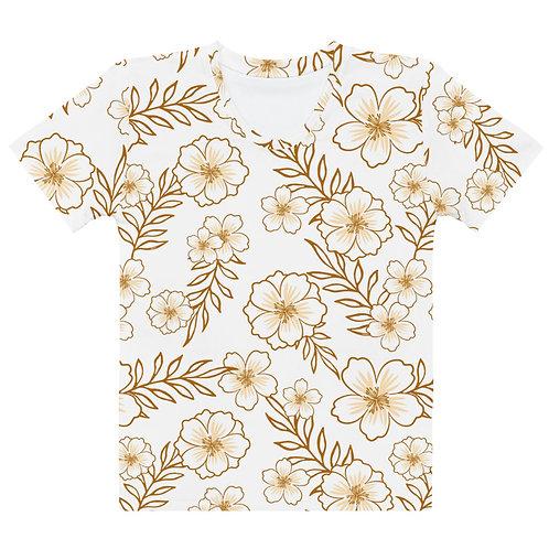 """Women's T-shirt """"Retro Floral"""""""
