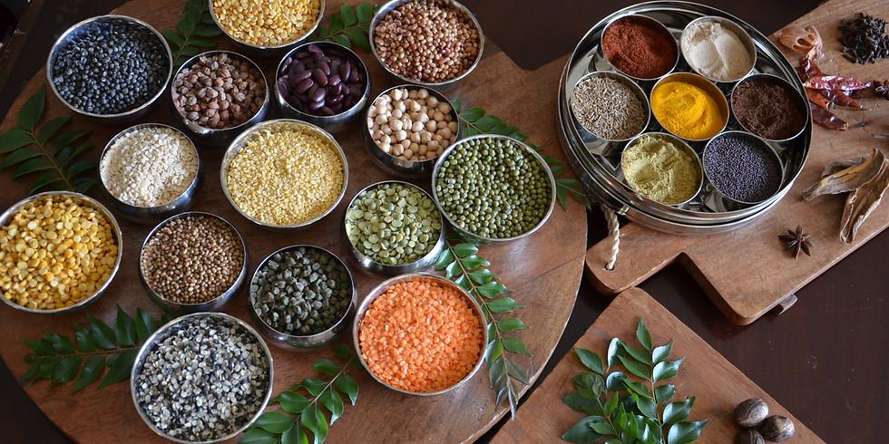 Cooking Workshop - Spring Detox - Indian Style