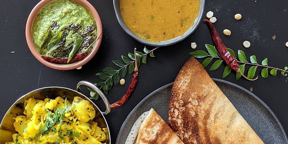 Online Cooking MasterClass - A Dosa Love