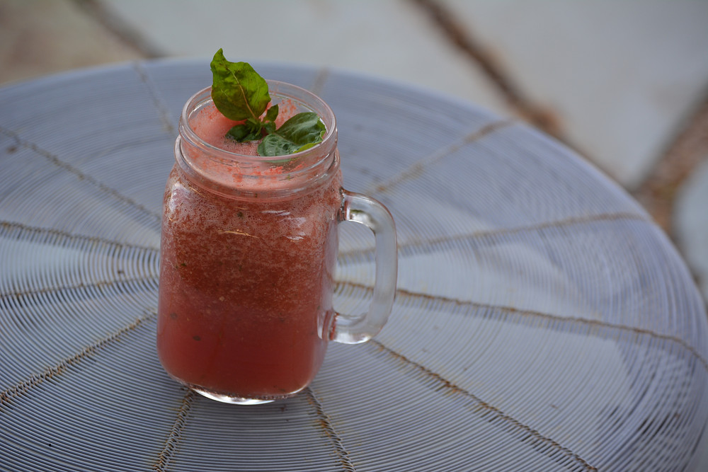 Summer Watermelon Cooler