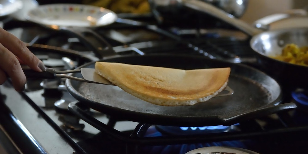 CANCELLED - Indian Dosa Dinner