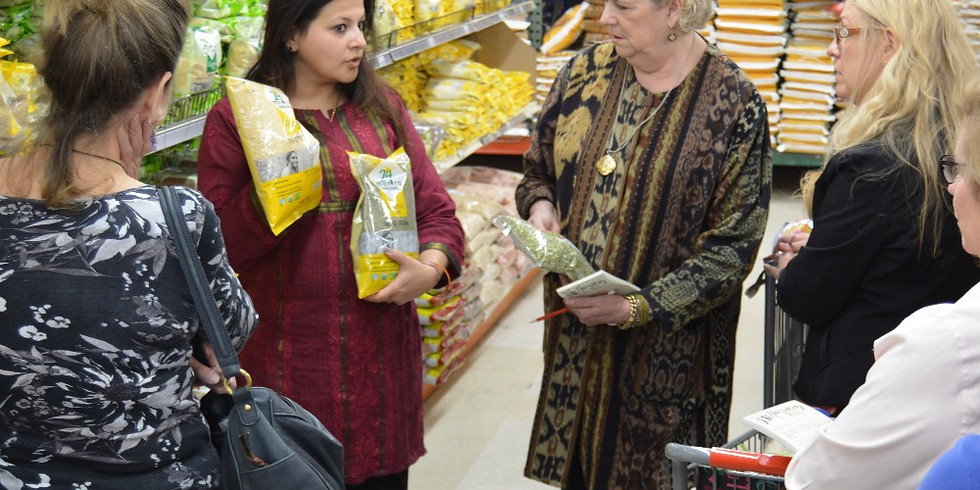 Guided Grocery Tour with Sapna - Lunch Included