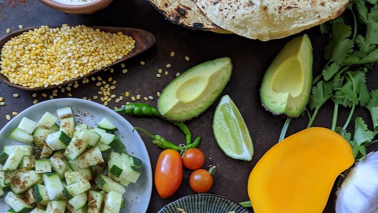 Online Cooking Class - Desi Taco Night