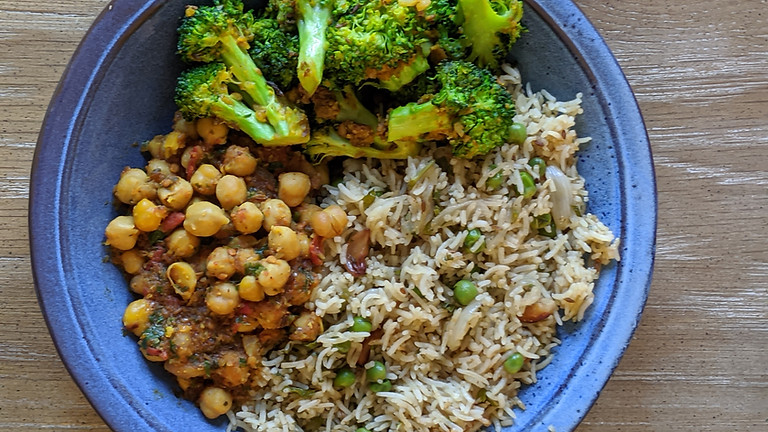 Online Cooking Class - Easy Indian Complete Meal