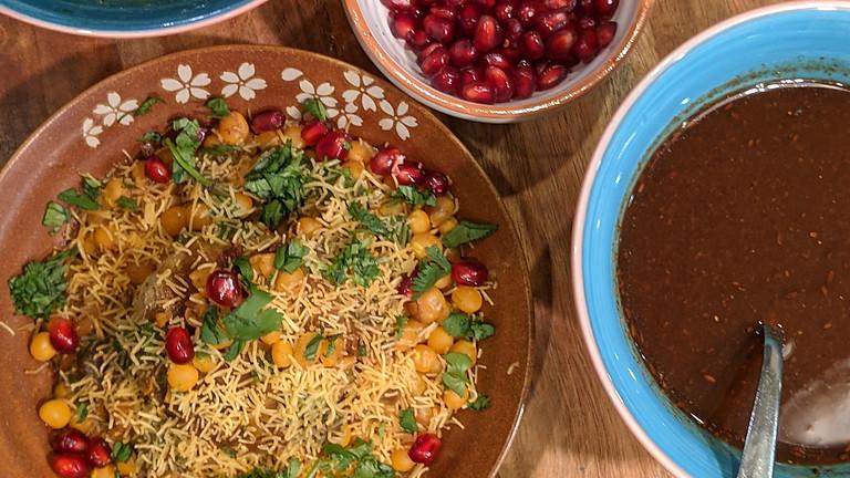 Online Cooking Class - Tikki Chaat Party