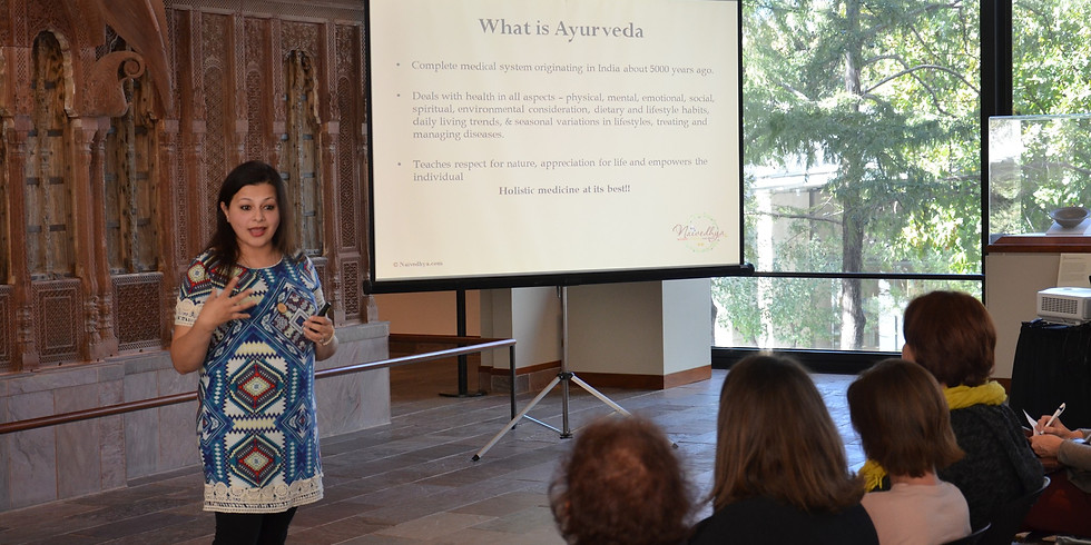 Lecture - Ayurveda for Modern Living