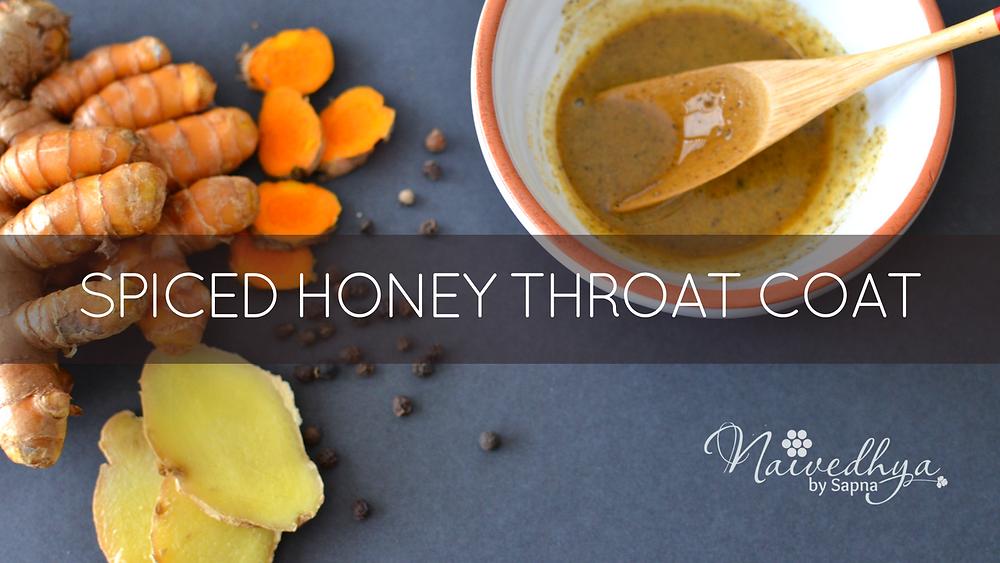 how to make honey throat coat