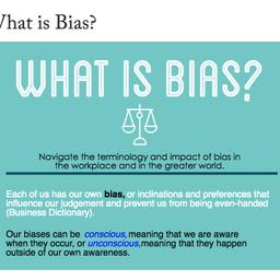 Georgetown University: What is Bias?