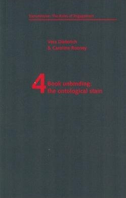 Book Unbinding: The Ontological Stain