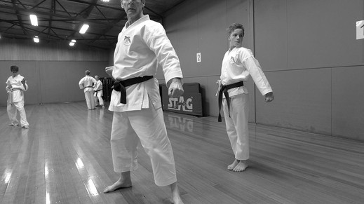 The concept of Kime in martial arts