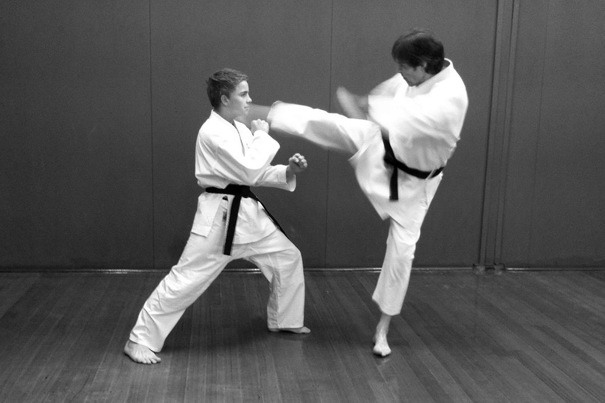 Thomas and Will demonstrating