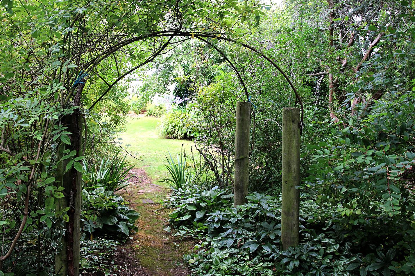 Walk the secret gardens