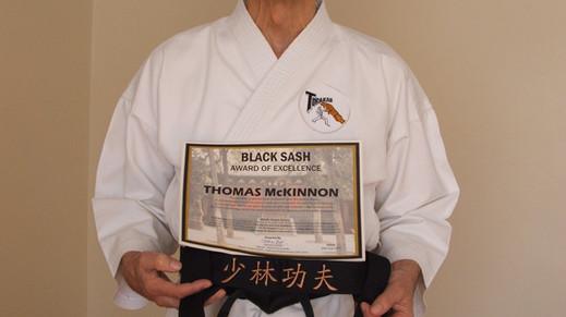 Shaolin Black Sash