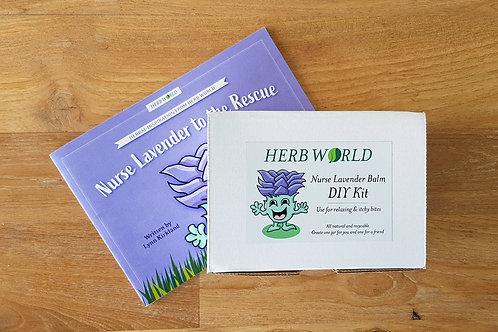 Nurse Lavender to the Rescue Book & DIY Kit Set