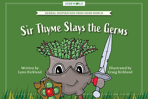 Sir Thyme Slays the Germs Book