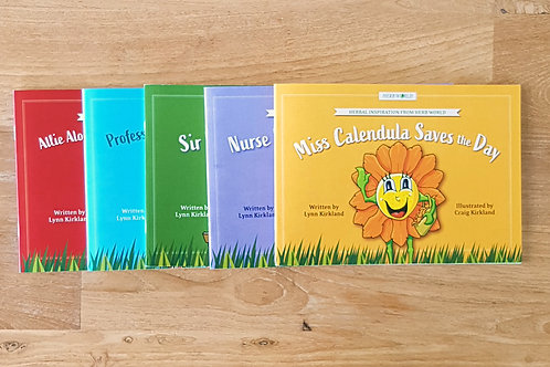Herb World Book Set