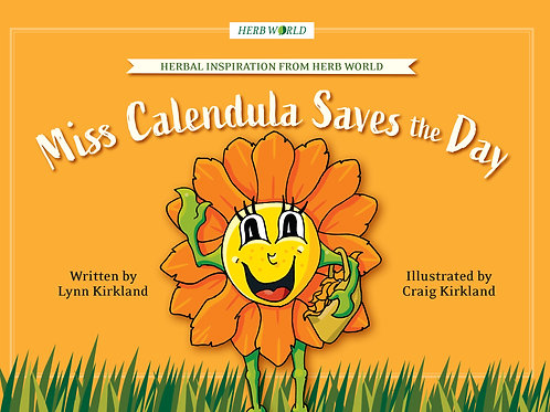 Miss Calendula Saves the Day Book