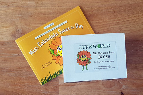 Miss Calendula Saves the Day Book & DIY Kit Set
