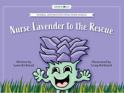 Nurse Lavender to the Rescue Book